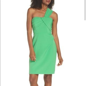 🆕Vince Camuto Laguna One-Shoulder Scuba Dress S12